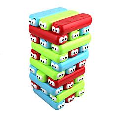 Brettspiel Holzblock Stapelturm Magnetischer Kitt Quadratisch Neues Design Mehrfarbig Mädchen Jungen 30