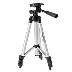 ismartdigi i-3110 4-section trépied (argent + noir) pour tous les d.camera v.camera nikon canon sony olympus ...