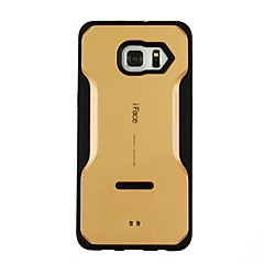 For Samsung Galaxy S7 Edge with Windows / Auto Sleep/Wake / Flip / Transparent Case Back Cover Case Solid Color Hard TPU SamsungS7 edge