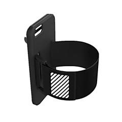 Voor iPhone 6 hoesje / iPhone 6 Plus hoesje Schokbestendig / Ultradun / Armband hoesje Armband hoesje Effen kleur Hard Siliconen Apple
