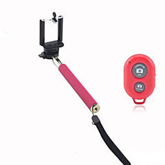 Selfie przedłużenia podręczny aparat monopod z telefonu posiadacza telefonu i Bluetooth zdalnego migawki dla iPhone