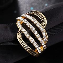 Ringe Mode / Vintage Bryllup / Party / Daglig / Afslappet Smykker Dame Statement Ringe 1pc,6 / 7 / 8 / 9 Kobberfarvet