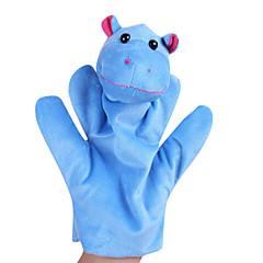 Animal Shaped Plush Finger Puppets 1Pcs