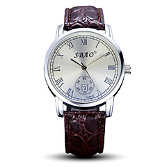 Fashion Taste Quartz Casual Performance New Round Dial Couple's Wrist Watches