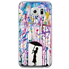 Color Gradient TPU Soft Ultra-thin Soft  Case Cover For Samsung GalaxyS7 edge / S7 / S6 edge plus / S6 edge / S6 / S5/S4