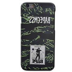Varten iPhone 6 kotelo / iPhone 6 Plus kotelo Other Etui Takakuori Etui Armeijatyyli Kova PC AppleiPhone 6s Plus/6 Plus / iPhone 6s/6 /