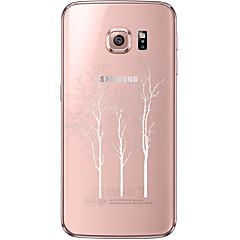 Na Samsung Galaxy S7 Edge Przezroczyste / Wzór Kılıf Etui na tył Kılıf Drzewo Miękkie TPU SamsungS7 edge / S7 / S6 edge plus / S6 edge /