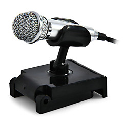 Alámbrico-Micrófono de Mano-Micrófono de OrdenadorWith3.5mm