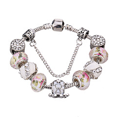 Sweet 6-7cm Women's Crystal Strand Bracelet #YMGP1013 Jewelry Christmas Gifts