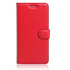 Voor Asus hoesje Kaarthouder / met standaard / Flip hoesje Volledige behuizing hoesje Effen kleur Hard PU-leer AsusAsus ZenFone Max