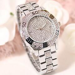 Women's Luxury Fashion Sparkle Stainless Steel Quartz Watch