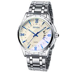 hommes gagnent la vraie montre