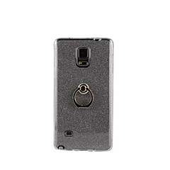 Na Samsung Galaxy Note Uchwyt pierścieniowy Kılıf Etui na tył Kılıf Brokat Miękkie TPU Samsung Note 5 / Note 4 / Note 3