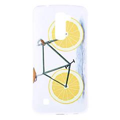 Voor LG hoesje Patroon hoesje Achterkantje hoesje Fruit Zacht TPU LG J5 (2016) / LG K10 / LG K7 / LG G5 / LG G4 / LG V10