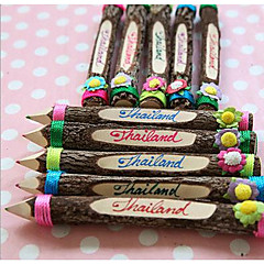 Southeast Asia Thailand Style Original Eco-Tourist Souvenirs Creative Color Pencil Artwork 1PC