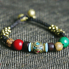 Strand Bracelets 1pc,Black Bracelet Fashionable Circle 514 Agate Jewellery