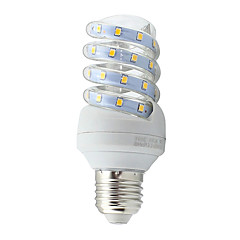 7W E26/E27 LED-kolbepærer Tube 40 SMD 2835 600 lm Varm hvid Kold hvid Dekorativ Vekselstrøm 85-265 V 1 stk.