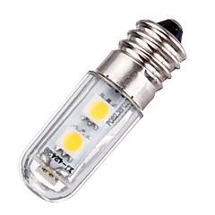 1 E14 LED-maissilamput T 77 SMD 5050 60 lm Lämmin valkoinen / Kylmä valkoinen Koristeltu AC 220-240 V 1 kpl