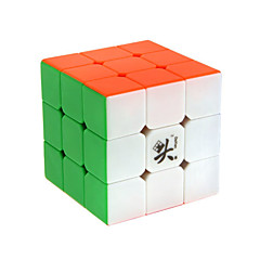 Leksaker Magiska kuber Rubik Cube Dayan® 3*3*3 magic Toy Slät Hastighet Cube Magic Cube pussel Plastic
