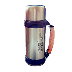 Travel Travel Bottle & Cup Travel Drink & Eat Ware Stainless Steel / Rubber