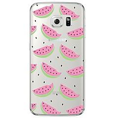 Πίσω Κάλυμμα Σούπερ Λεπτό / Ημιδιαφανές Φρούτα TPU Moale Case Cover για το Samsung GalaxyS7 edge / S7 / S6 edge plus / S6 edge / S6 / S5
