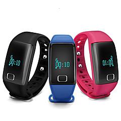 Par Sportsur Smartur Armbåndsur Digital LED Kronograf alarm Pulsmåler Træningsmålere Chok Resistent Speedometer Skridtæller Plastik Bånd