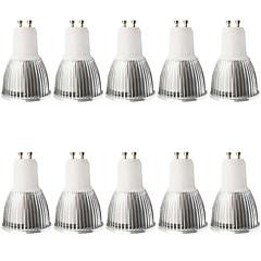 5W GU10 LED-spotlys MR16 1 COB 480LM lm Varm hvid Kold hvid Justérbar lysstyrke Dekorativ Vekselstrøm 100-240 Vekselstrøm 110-130 V10