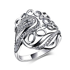 Party Accessories Cubic Zirconia 925 Sterling Silver Rings For Women Wedding Simple Jewelery New