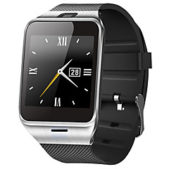 Da uomo Smart watch Digitale Touchscreen / Telecomando / Calendario / allarme / Cronometro / Pedometro / Fitness tracker Gomma Banda