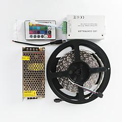 Z®ZDM 600X5050 RGB Double row 120W  AC110-240V To DC12V10A Transformer and 12V/12A 24IR Controller