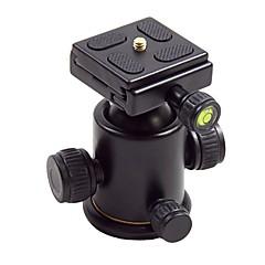 dijital kamera maksimum yük 5 kg için tutuşunu plakalı HY-3 tilt kafası alüminyum alaşım top tutucu