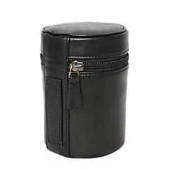 S Camera Lens Case for All Camera Lens Nikon Canon Pentax Sony Olympus... (Black/Brown/Coffee)