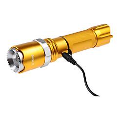 U`King® LED taskulamput LED 1200LM Lumenia 5 Tila - Cree XM-L2 18650 Säädettävä fokus ladattavaTelttailu/Retkely/Luolailu Kiipeily