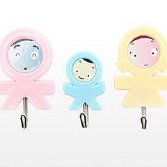 Creative Design Cute Strong Hook For Family Of Three BLISTER CARD