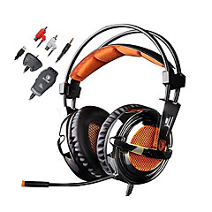 Sades Magic Crystal Kuulokkeet (panta)ForMedia player/ tabletti / TietokoneWithMikrofonilla / DJ / Äänenvoimakkuuden säätö / FM-radio /