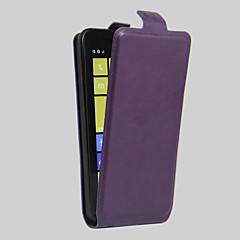 Για Θήκη Nokia Θήκη καρτών / Ανθεκτική σε πτώσεις / Προστασία από τη σκόνη tok Πλήρης κάλυψη tok Μονόχρωμη Σκληρή Συνθετικό δέρμα Nokia