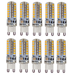 4W G9 LED à Double Broches T 48 SMD 2835 300-350 lm Blanc Chaud Blanc Froid Blanc Naturel Décorative Etanches AC 100-240 AC 110-130 V10