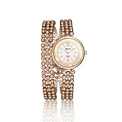 Women's Dress Watch Fashion Watch / Quartz Alloy Band Vintage Casual Gold