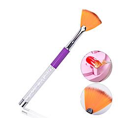 1pcs Professional New Crystal Nail Art Brushes Acrylic UV Gel Polish Builder Drawing Painting Nail Design Tools