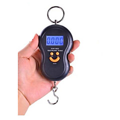 סולם אלקטרוני נייד (משקל מקסימאלי: 50 קילו, שחור)