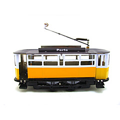 The Car Wind-up Toy Leisure Hobby Metal Yellow For Kids