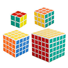 Rubik's Cube Smooth Speed Cube 2*2*2 4*4*4 5*5*5 Speed Professional Level Magic Cube ABS