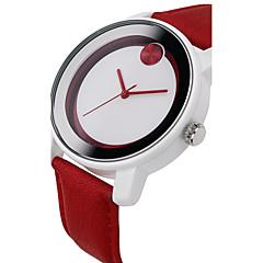 Dames / Uniseks Dress horloge / Modieus horloge Japanse quartz / PU Band Bedeltjes / Cool roze Merk