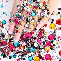 2000pcs 미술 장식 네일 라인 석 진주 메이크업 화장품 아트 디자인 네일