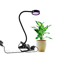 8W LED Grow Lights Red and Blue LED Chip AC100-240V Adapter or USB Grow Lamp 2 Modes Dimmable for Indoor Plants Growning