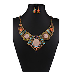 MOGE Ms. European And American Fashion Jewelry Sets / Necklace / Earrings