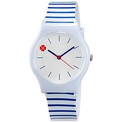 Dziecięce Zegarek na nadgarstek Kwarcowy Kolorowy Plastic Pasmo Słodycze / Nowoczesne / Na co dzień Niebieski Marka