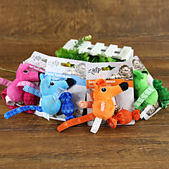 고양이 장난감 반려동물 장난감 인터렉티브 캔디 마우스 직물
