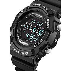 SANDA Masculino Casal Relógio Esportivo Relógio Militar Relógio Inteligente Relógio de Moda Relógio de Pulso Digital Quartzo JaponêsLED
