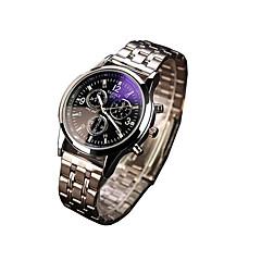 271 YAZOLE Fashion Unisex's Sport Dress Watch Stainless Steel Blue Ray Glass Noctilucent Analog Quartz Wrist Watches